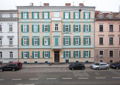 Fassade Heinrichstrasse